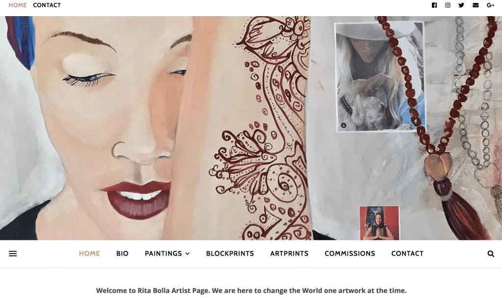 Homepage, RitaBolla.com